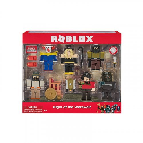 "Набор из 6 фигурок Roblox ""Night of the Werewolf"" (Jazwares)"
