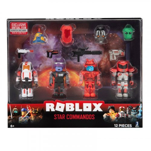 "Набор из 4 фигурок Roblox ""Star Commandos"" (Jazwares)"