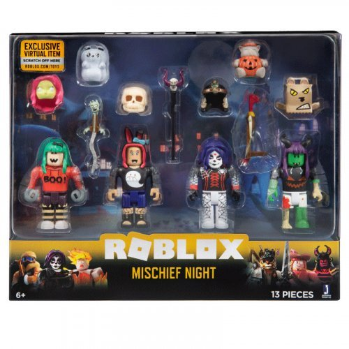 "Набор из 4 фигурок Roblox ""Mischief Night"" (Jazwares)"