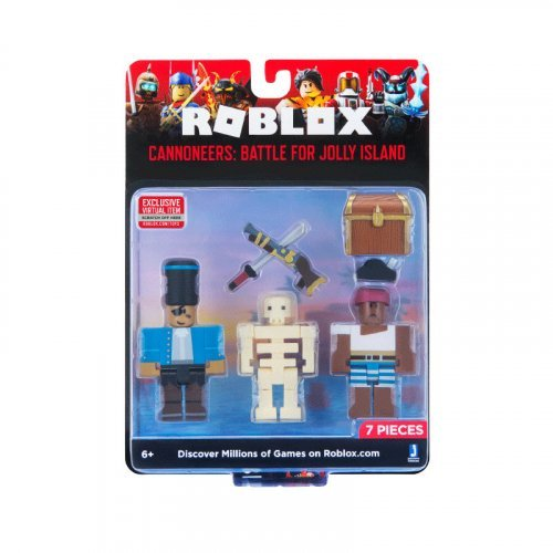 "Набор из 3 фигурок Roblox ""Cannoneers: Battle For Jolly Island"" (Jazwares)"
