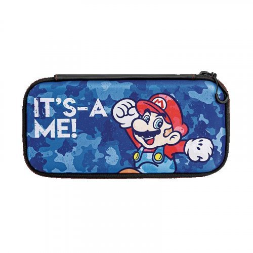 "Дорожный чехол Nintendo Switch ""Slim Mario Camo"""