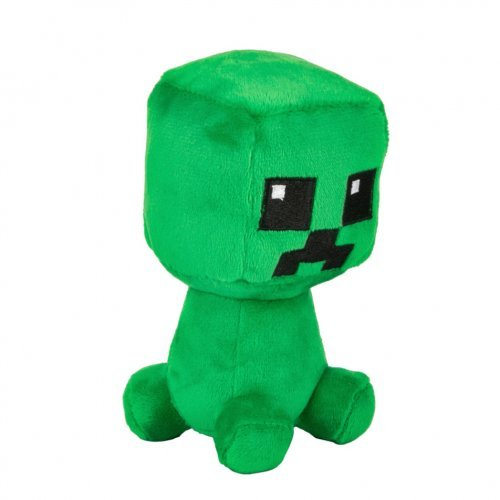 "Мягкая игрушка ""Крипер"" Minecraft Dungeons Mini Crafter Creeper 12см"