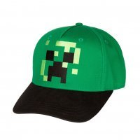 Бейсболка Minecraft Pixel Creeper