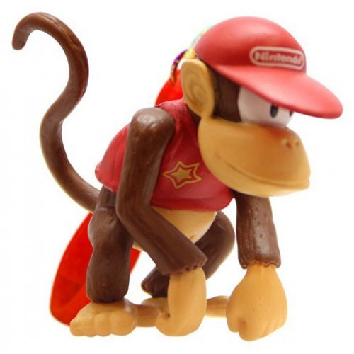 Брелок Super Mario: Diddy Kong (5 см)